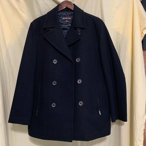 Michael Kors Peacoat with quilted insulated lining